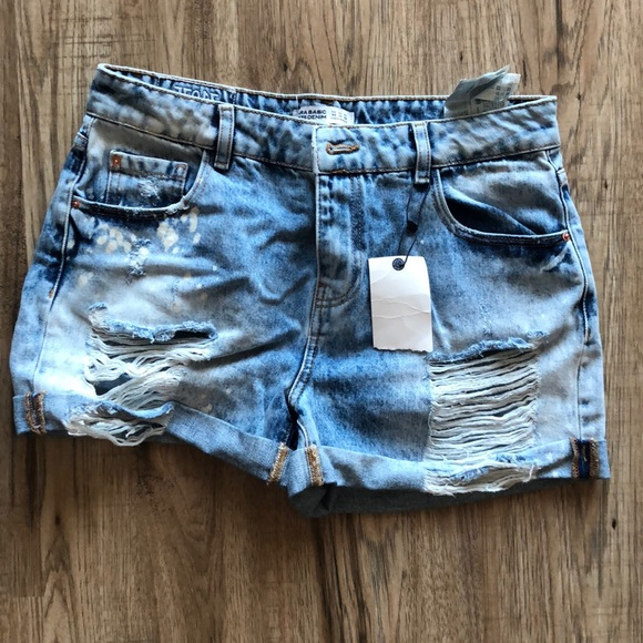 Zara Pants - Zara Denim Shorts